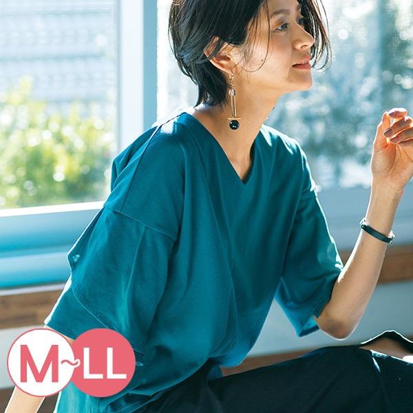 日本代購-portcros花瓣造型袖V領上衣M-LL(共三色) 日本代購,portcros,V領