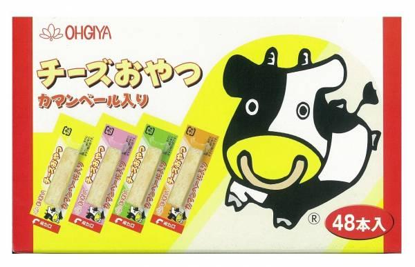 日本代購-日本製 OHGIYA 扇屋一口起司鱈魚條 48入 日本空運,東區時尚,日本代購,起司條,鱈魚條,OHGIYA,日本製