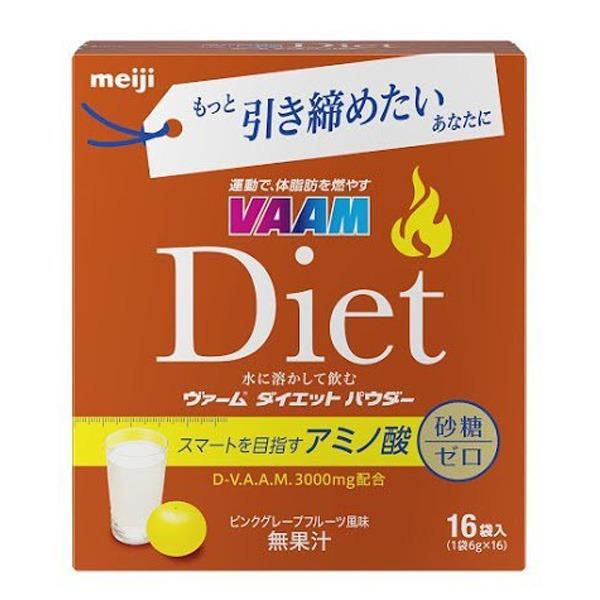 日本代購-日本熱銷 明治 VAAM Diet 複合氨基酸運動補給沖泡粉 16包入  日本代購,日本帶回,東區時尚,日本熱銷,明治,VAAM Diet,複合氨基酸,運動補給沖泡粉