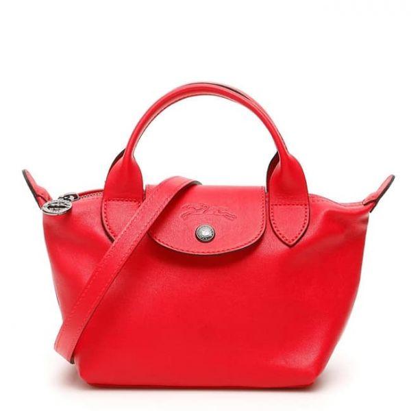 特價LONGCHAMP 小羊皮mini款3WAY水餃包(售價已折) 日本代購,Longchamp