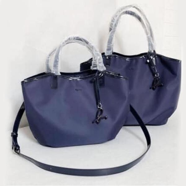特價-日本agnes b. 附小b吊飾滾邊三層包(大)(售價已折) agnes b.,東區時尚,三層包