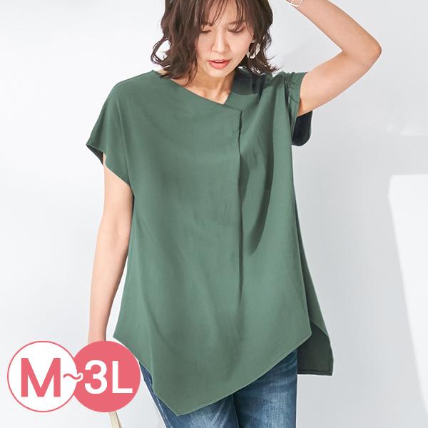 日本代購-不規則造型折縫純棉上衣(共四色/M-LL) 日本代購,不規則