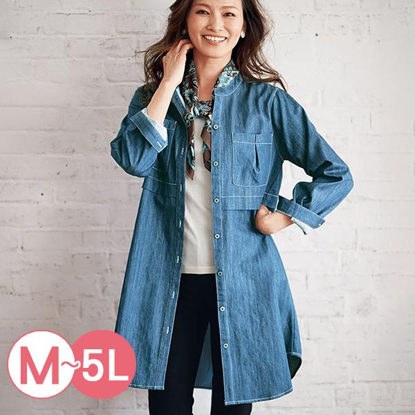 日本代購-portcros造型口袋長版牛仔襯衫(共二色/M-LL) 日本代購,portcros,牛仔