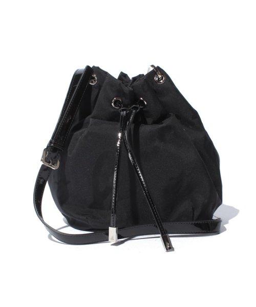 日本代購~特價agnes b. 大草寫logo提花抽繩水桶包(售價已折) agnes b.,東區時尚,水桶包