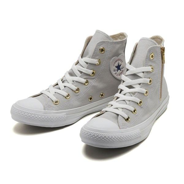 日本代購-CONVERSE 日本限定愛心側拉鍊高筒帆布鞋 日本代購,CONVERSE