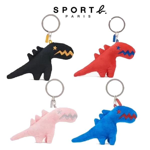 日本代購- 特價agnes b sport b小恐龍絨毛鑰匙圈(售價已折) agnes b.,東區時尚,agnes b. 鑰匙圈
