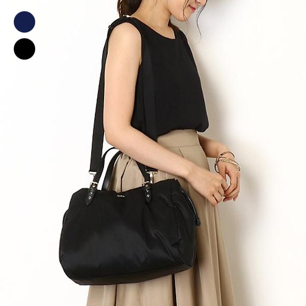 日本代購-agnes b. 抽繩設計2way手提袋斜背包-大 agnes b.,東區時尚,斜背包