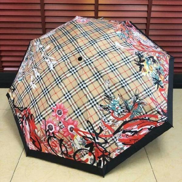 【超值預購】特價BURBERRY晴雨2用全自動陽傘B款(售價已折) 日本代購,BURBERRY,傘