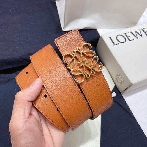 超值代購-LOEWE 荔枝紋皮帶腰帶(售價已折) LOEWE 荔枝紋,皮帶,腰帶