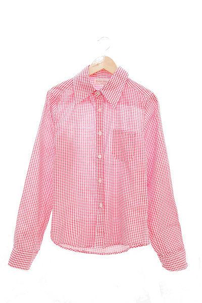 日本CIELO 現貨-格紋長袖襯衫(共五色/M-L) 日本代購