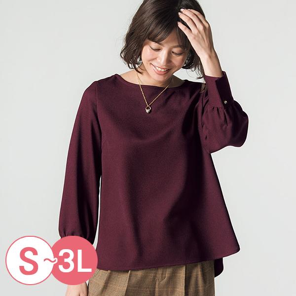 日本代購-cecile簡雅溫暖仿羊毛泡泡袖上衣(共三色/S-LL) 日本代購,CECILE,泡泡袖