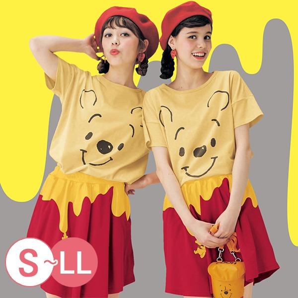 日本代購-可愛迪士尼大臉印花T恤-B(共十一色) 日本空運,東區時尚,T恤