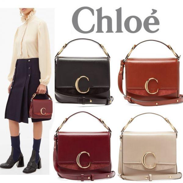 超值代購Chloé 大C 兩用包S號(售價已折) Chloé ,兩用包