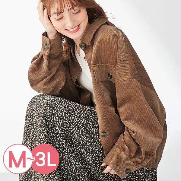 日本代購-portcros落肩袖燈芯絨襯衫夾克(共三色/M-LL) 日本代購,portcros,燈芯絨