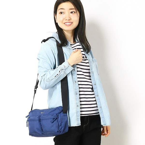 日本代購-agnes b.尼龍單肩/斜背包(售價已折) agnes b.,日本代購,單肩,斜背包
