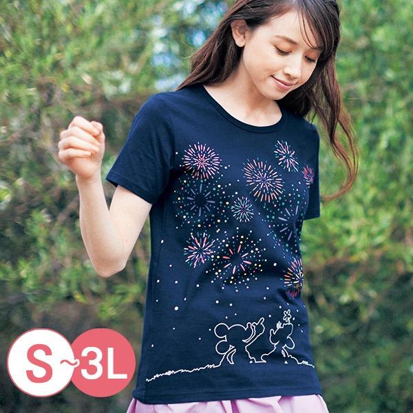 日本代購-親膚純棉迪士尼印花T恤-B(共十二色/3L) 日本空運,東區時尚,T恤