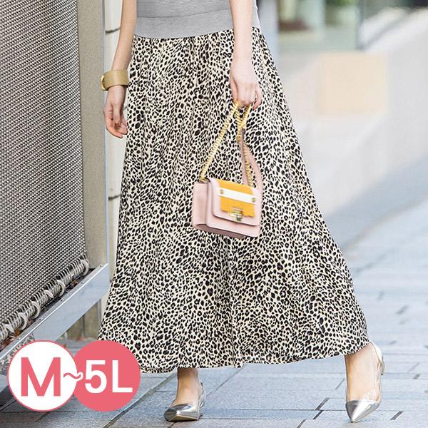 日本代購-portcros時尚滿版印花鬆緊腰長裙M-LL(共七色) 日本代購,portcros,長裙