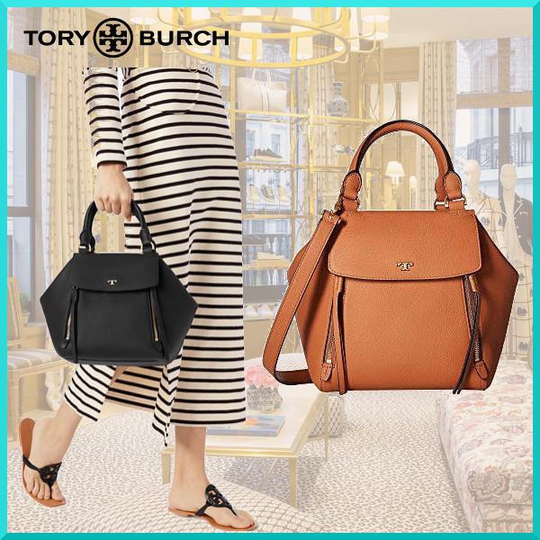 超值代購-TORY BURCH 半月皮革2way手提包(售價已折) 日本代購,TORY BURCH