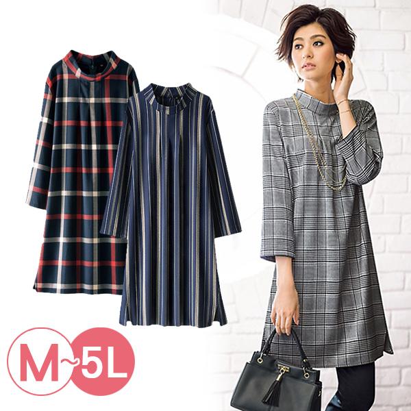 日本代購-portcros立領折縫八分袖長版上衣(共三色/M-LL) 日本代購,portcros,長版