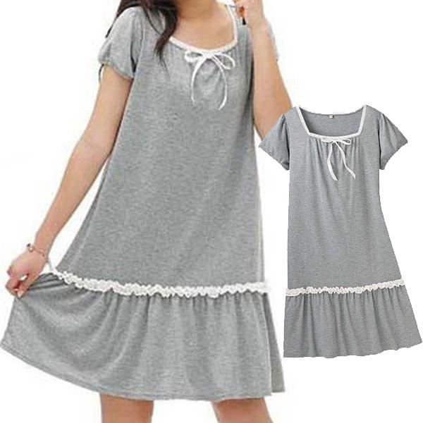 日本現貨-cecile蕾絲滾邊連身裙 日本代購,cecile,連身裙