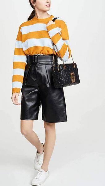 超值代購-特價Marc Jacobs The Status Shoulder Bag菱格小香款金鍊双層相機包(售價已折) MARC JACOBSHE STATUS SHOULDER BAG