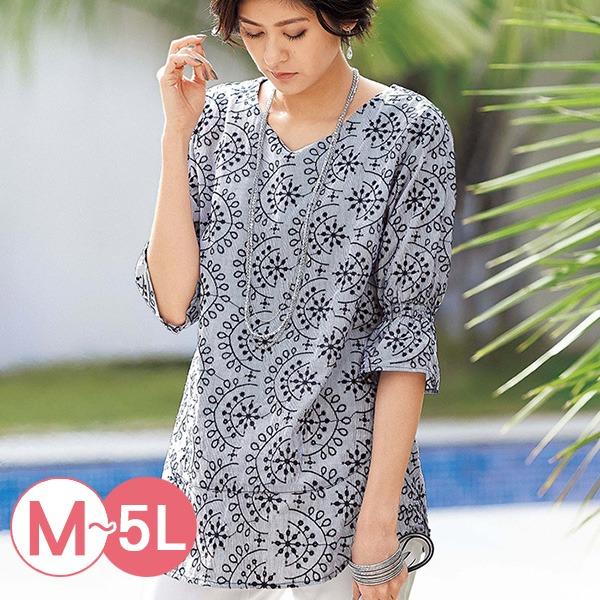 日本代購-portcros優雅糖果袖刺繡上衣M-LL(共七色) 日本代購,portcros,刺繡