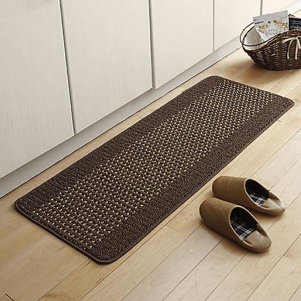 日本代購-日本製可折疊易清洗防滑廚房地墊(45x90cm) 日本代購,日本帶回,東區時尚,日本製,可折疊,易清洗,防滑,廚房,地墊