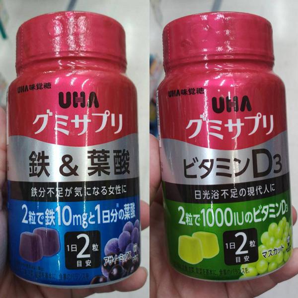 日本代購-現貨許願款UHA味覺糖營業補充軟糖 東區時尚,日本代購,軟糖