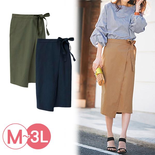日本代購-portcros優雅綁帶造型緊身裙3L(共三色) 日本代購,portcros,緊身裙