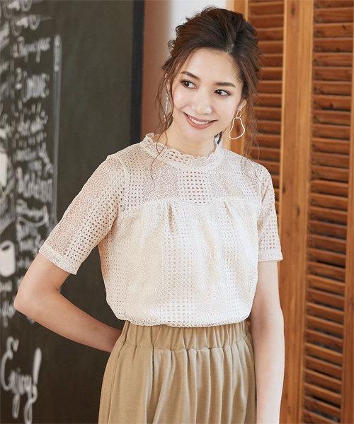 日本代購-日本質感品牌IG人氣爆款蕾絲上衣 日本代購,上衣