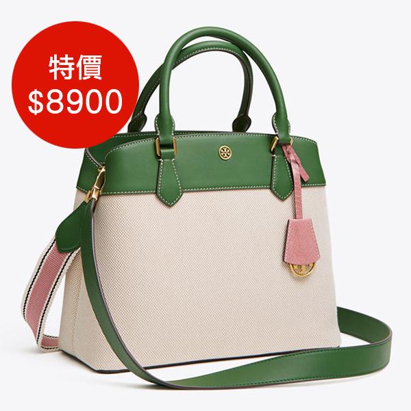日本代購-Tory Burch 2way三層手提包肩背包 agnes b.,東區時尚,手提包