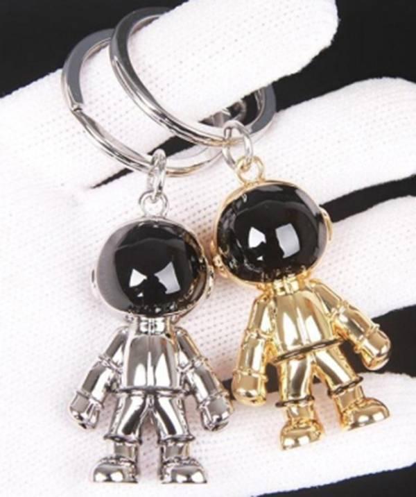 日本代購-agnes b.太空人合金造型鑰匙圈  agnes b.,東區時尚,太空人,鑰匙圈
