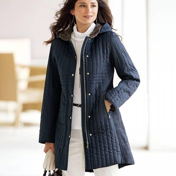 日本代購-portcros壓紋設計連帽長外套(M-LL) 日本代購,portcros,外套
