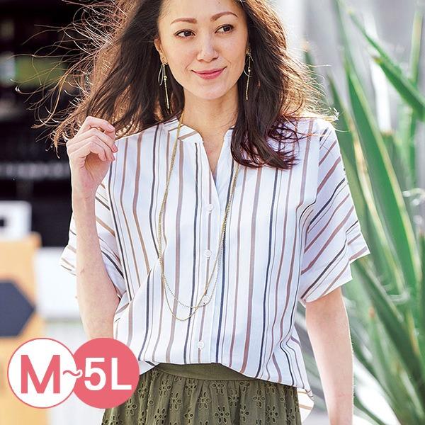 日本代購-portcros立領抓褶袖造型襯衫(共四色/M-LL) 日本代購,portcros,襯衫
