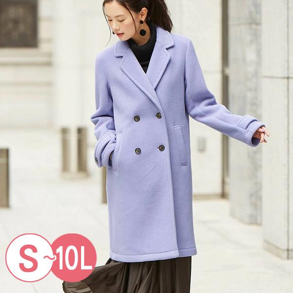 日本代購-簡雅溫暖可水洗毛呢大衣(共四色/S-LL) 日本代購,毛呢