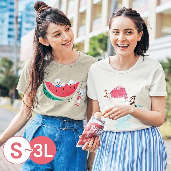 日本代購-親膚純棉迪士尼印花T恤-A(共十二色/S-LL) 日本空運,東區時尚,T恤