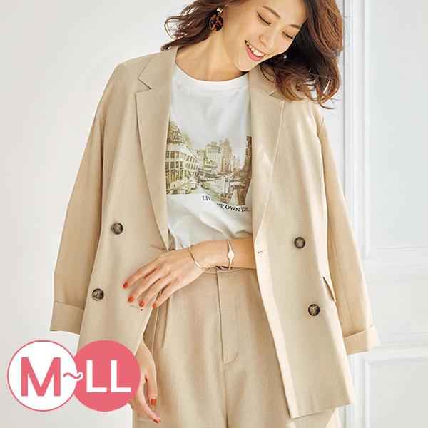 日本代購-portcros休閒麻混紡廓形外套(共三色/M-LL) 日本代購,portcros,外套