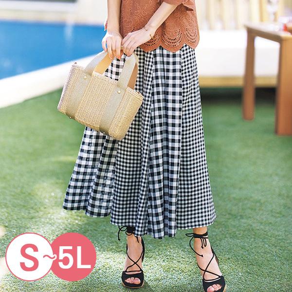 日本代購-portcros優雅百褶鬆緊腰長裙S-LL(共四色) 日本代購,portcros,百褶裙