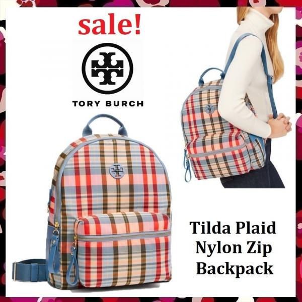 超值代購~特價Tory Burch 格紋後背包(售價已折) 日本代購,Tory Burch,後背包