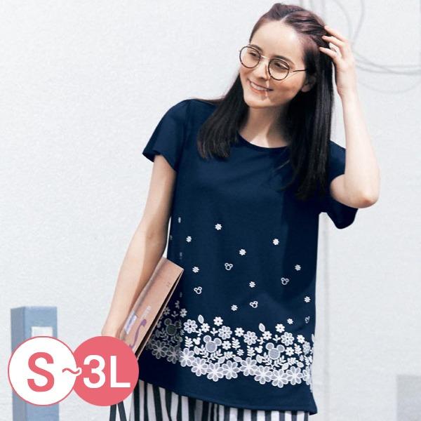 日本代購-迪士尼米奇維尼寬袖A字形T恤(共八色/3L) 日本空運,東區時尚,T恤