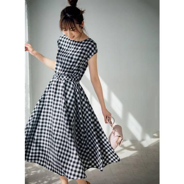 日本代購-cecile法式束腰洋裝(共二色) 日本代購,CECILE,洋裝
