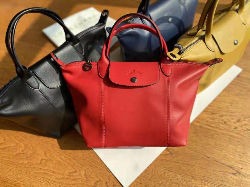 特價LONGCHAMP 小羊皮寬版肩帶3WAY包(售價已折) 日本代購,Longchamp