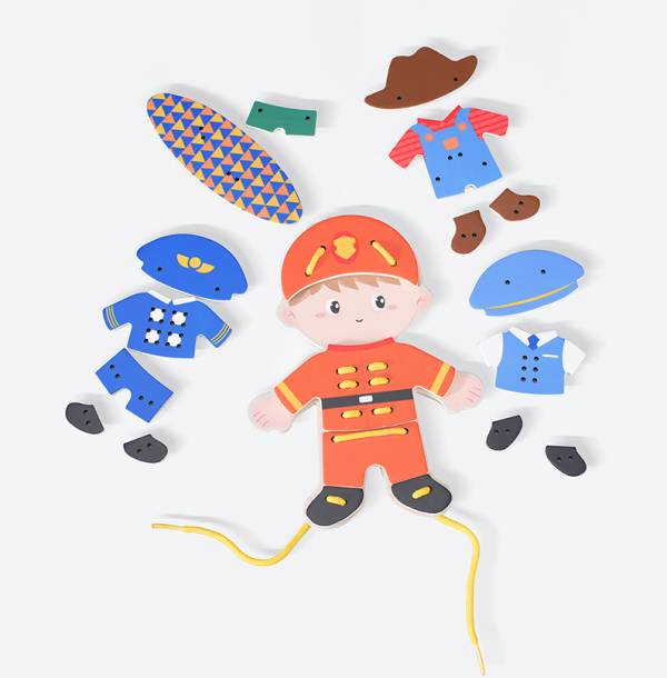 兒童穿線遊戲-我的工作服男孩款(27pcs)【德國Classic World客來喜經典木玩】 德國木玩具,德國玩具,客來喜,德國客來喜,德國classicworld,classicworld,classicworld台灣代理,classicworld獨家代理,德國設計玩具,玩具,木玩,經典木玩,木製玩具,木質玩具,兒童玩具,寶寶玩具,益智,益智玩具,安全玩具,無甲醛,零甲醛,無毒,環保漆,手眼協調,視覺發展玩具,智能發展玩具,視覺專注,想像力,積木玩具,邏輯力,拼圖,熊熊套圈圈,套圈圈,熊