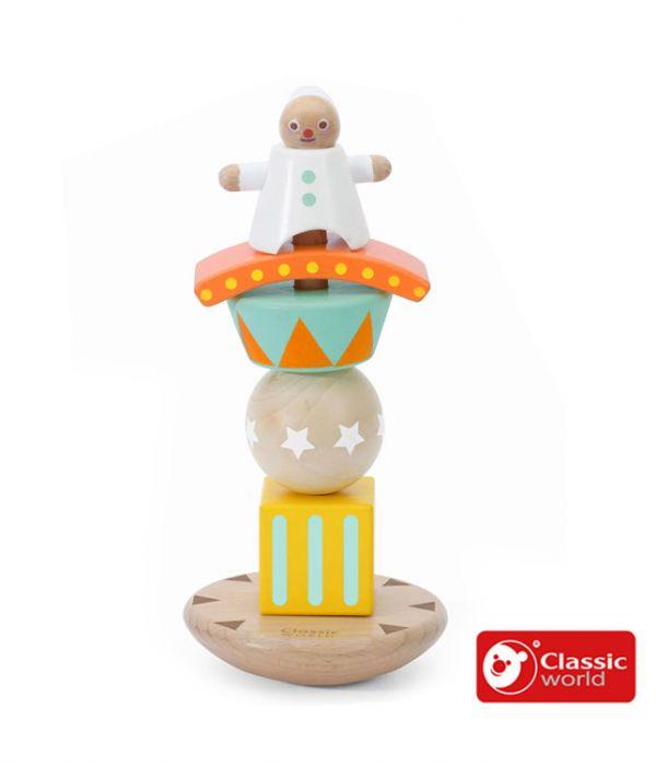 小丑堆疊平衡遊戲【德國Classic World客來喜經典木玩】 德國木玩具,德國玩具,客來喜,德國客來喜,德國classicworld,classicworld,classicworld台灣代理,classicworld獨家代理,德國設計玩具,玩具,木玩,經典木玩,木製玩具,木質玩具,兒童玩具,寶寶玩具,益智,益智玩具,安全玩具,無甲醛,零甲醛,無毒,環保漆,手眼協調,視覺發展玩具,智能發展玩具,視覺專注,想像力,積木玩具,邏輯力,拼圖,熊熊套圈圈,套圈圈,熊