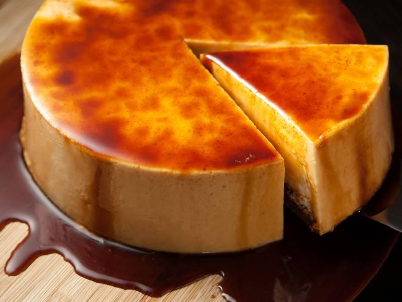 【九吋】焦糖布丁蛋糕