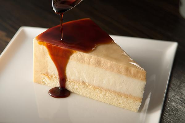 【切片】焦糖布丁蛋糕