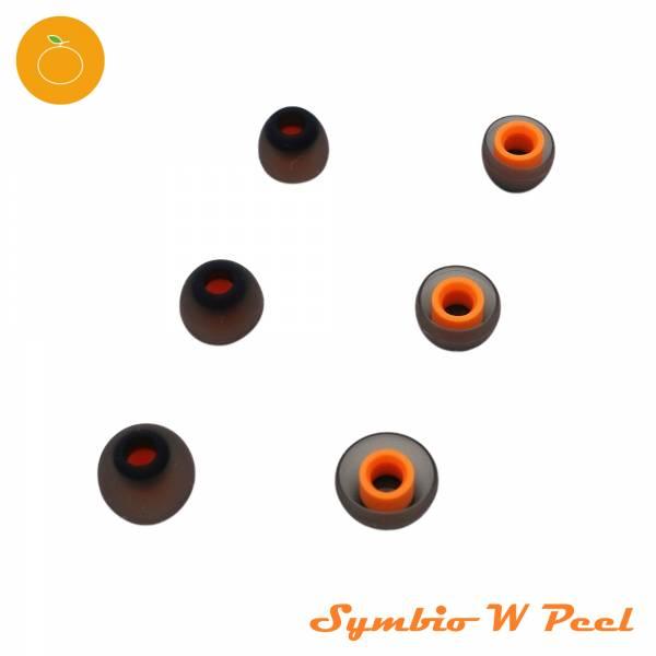 Symbio W Peel 匈牙利 矽膠耳塞 小橘塞 適用大多數 IEM 耳道式耳機 小橘塞, Symbio,Symbio W Peel,耳塞,替換耳塞,分享,台灣,推薦,開箱,低音,隔音,矽膠,犬爸,犬爸嚴選,開箱