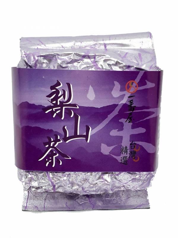 梨山烏龍茶(紫) 茶葉,台湾伴手禮,烏龍茶,一番屋,お茶,ウーロン茶,高山茶,台湾茶,美人茶,ジャスミン茶