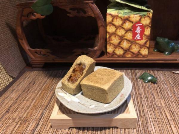 紅玉ケーキ/紅玉酥(5入) パイナップルケーキ,鳳梨酥,台湾伴手禮,手作り,一番屋
