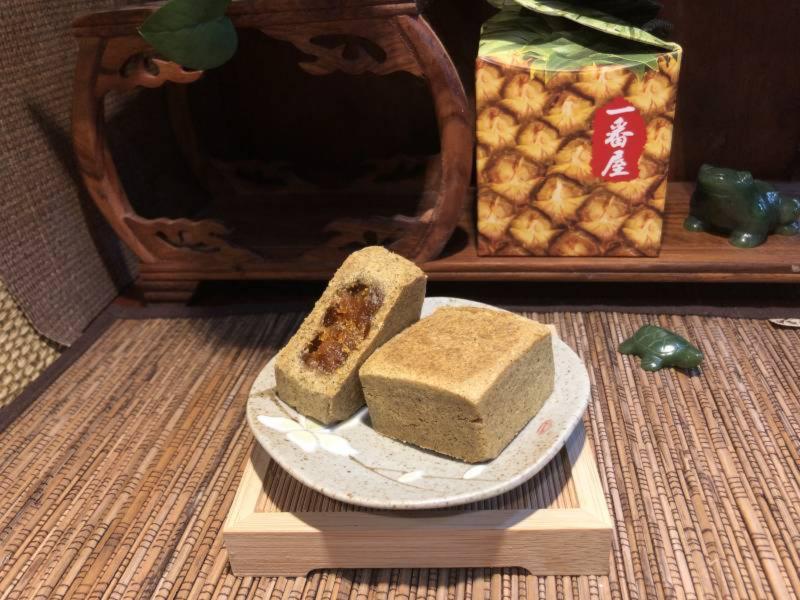 紅玉ケーキ/紅玉酥(10入) パイナップルケーキ,鳳梨酥,台湾伴手禮,手作り,一番屋